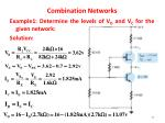 combination networks