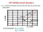 jfet self bias circuit example 12
