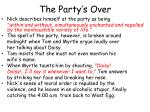 the party s over