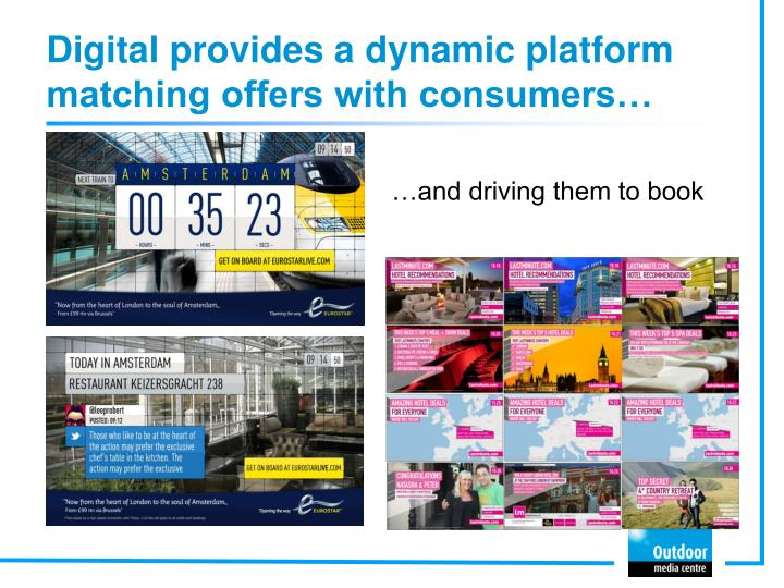 Digital provides a dynamic platform matching offers with consumers…