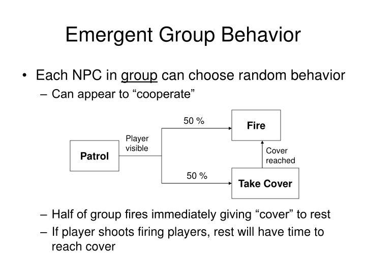 Emergent Group Behavior