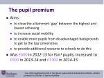 the pupil premium