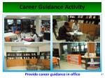 career guidance activity