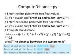 computedistance py