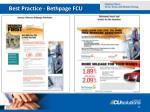 best practice bethpage fcu