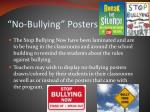 no bullying posters