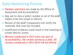 state monitoring process