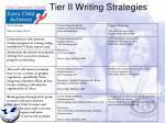 tier ii writing strategies1