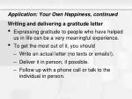 application your own happiness continued1