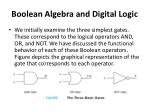 boolean algebra and digital logic14