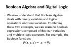 boolean algebra and digital logic6
