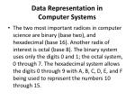 data representation in computer systems2