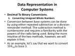 data representation in computer systems4
