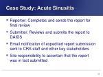case study acute sinusitis16