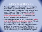 adding form elements
