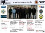 www iontrap umd edu