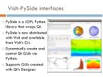 visit pyside interfaces
