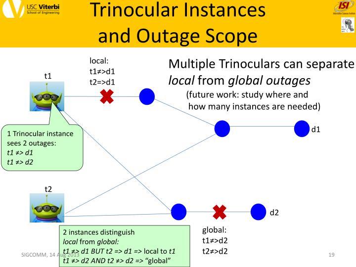 Trinocular Instances