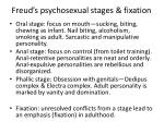 freud s psychosexual stages fixation