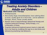 treating anxiety disorders adults and children