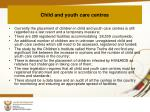 child and youth care centres2