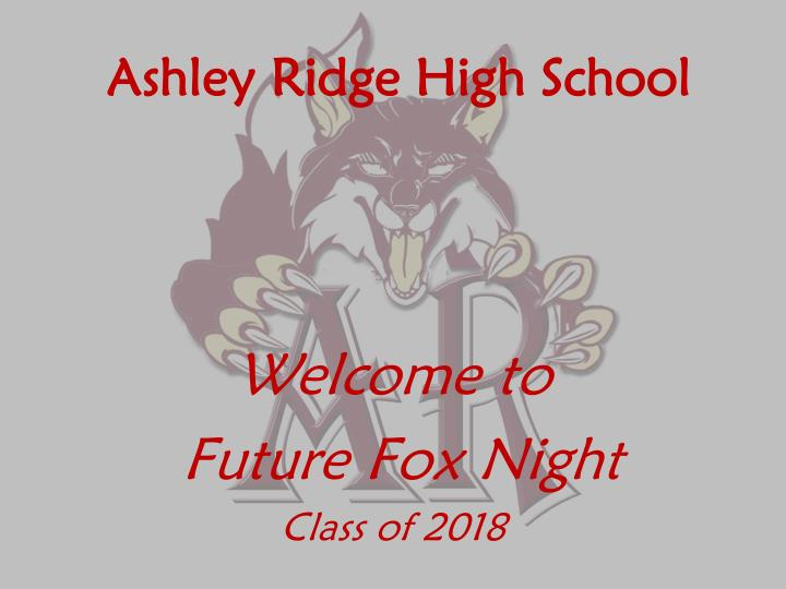 ashley ridge high school n.