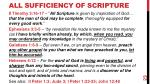 all sufficiency of scripture