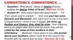 consistency consistency