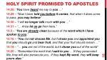 holy spirit promised to apostles1