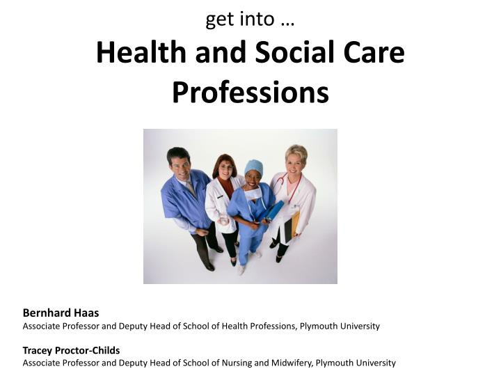 g et into health and social care professions n.