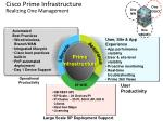 cisco prime infrastructure realizing one management