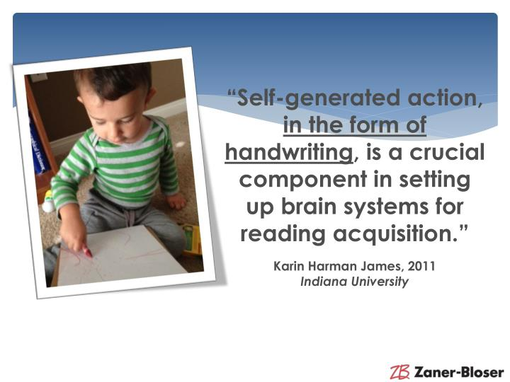 """Self-generated action,"