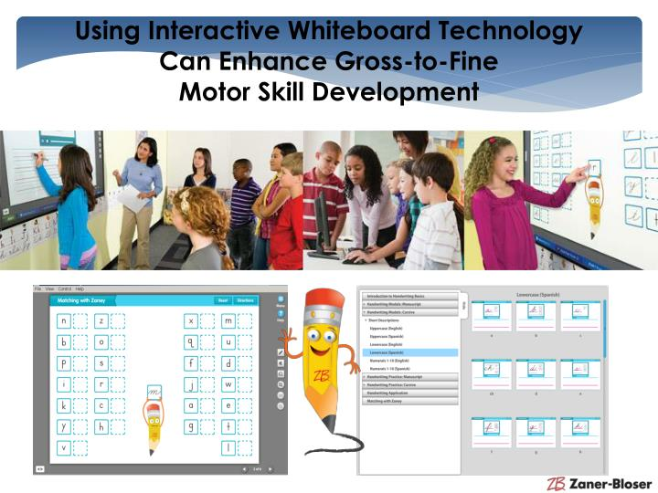 Using Interactive Whiteboard Technology
