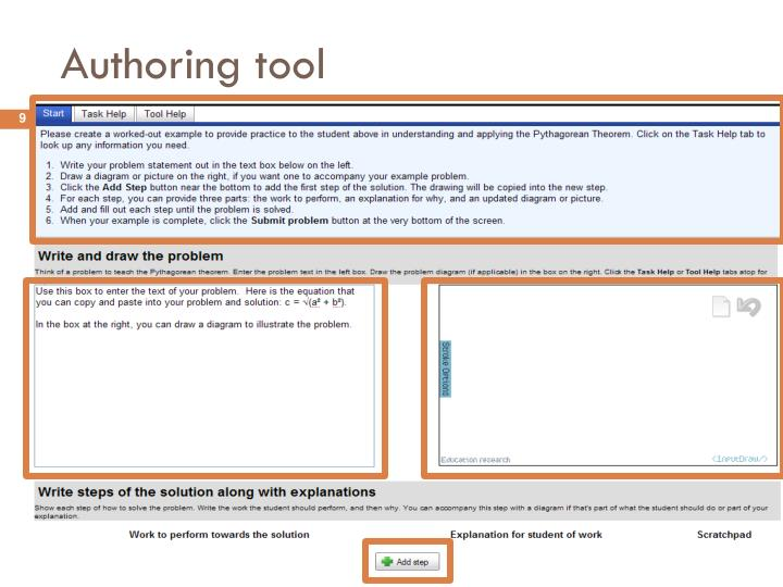 Authoring tool