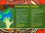 transitional models