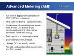 advanced metering ami