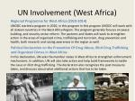 un involvement west africa