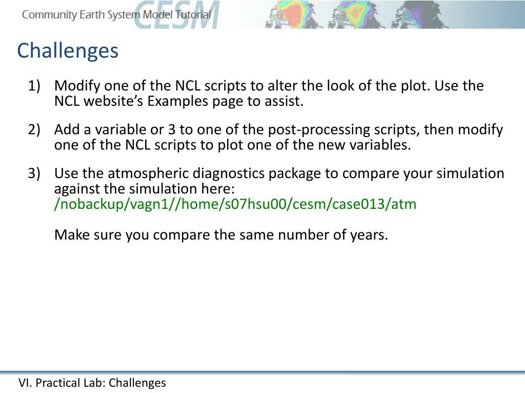 PPT - CESM output and CESM diagnostics packages PowerPoint