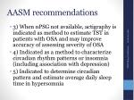 aasm recommendations1