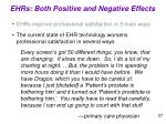 ehrs both positive and negative effects3