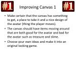 improving canvas 1
