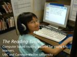 what is the reading tutor