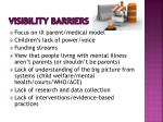 visibility barriers