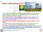 future with nuclear power