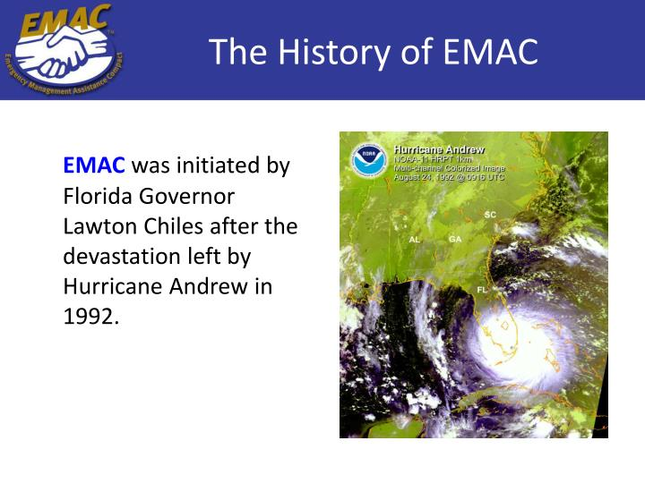 The history of emac
