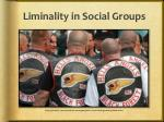 liminality in social groups