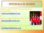 pathshala in charge