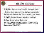 bso 18 rc commands