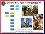 navy medical reserve organization