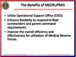 the benefits of medrupmis